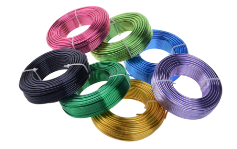 Color Anodized Aluminum Wire Is Toughness Enough Can Be Repeated Bending Not Easy To Break With Plasticity